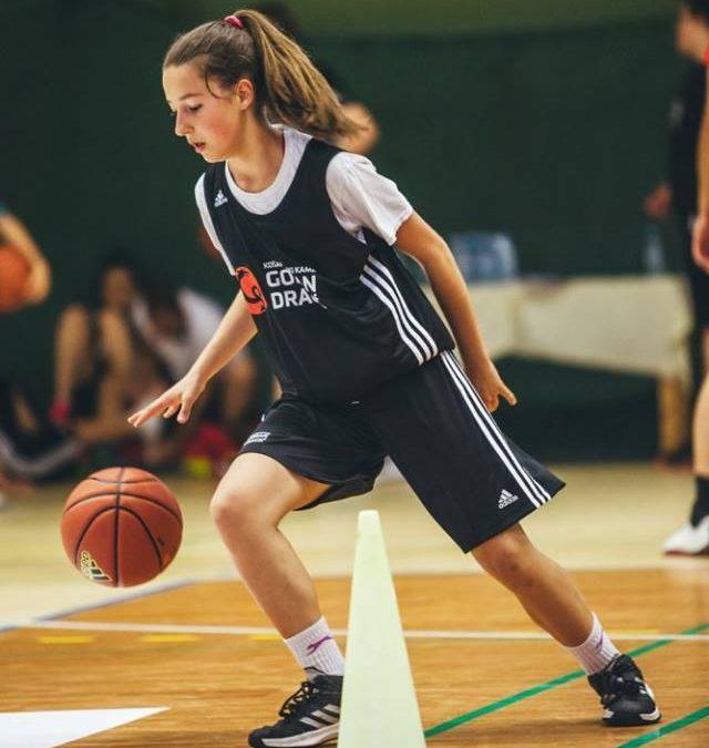 Tijana Gajanović podaj žogo