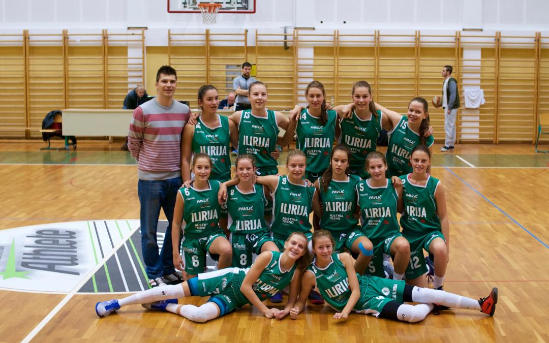 Uspešen začetek WABA lige za U15