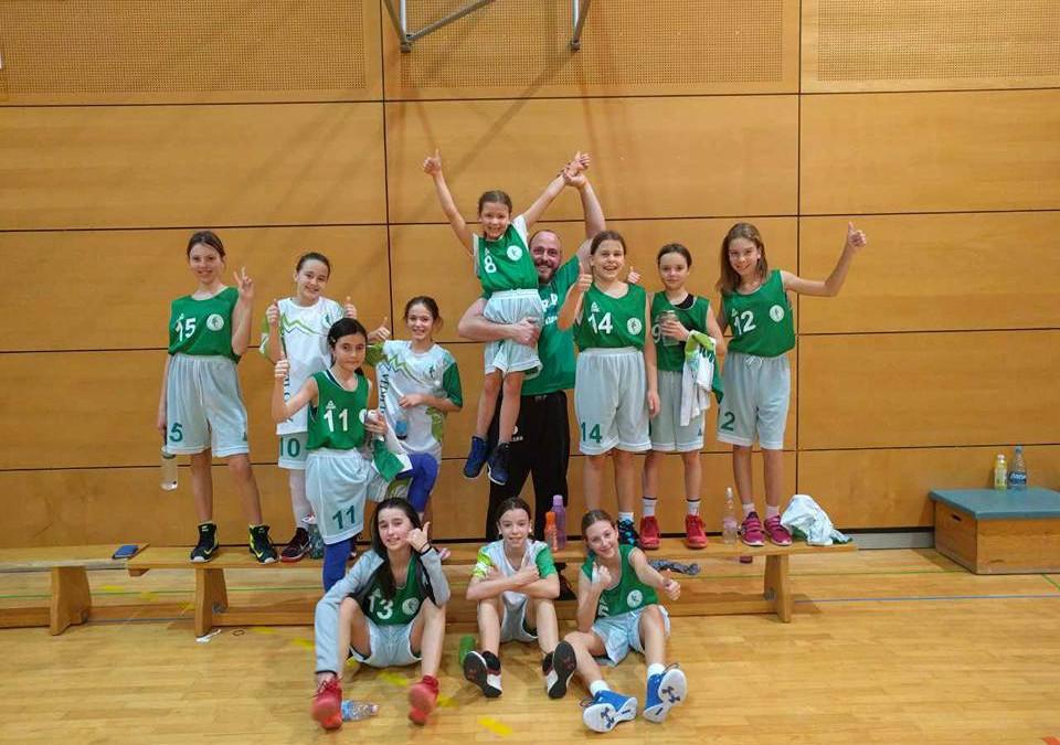 Najmlajše Ilirijanke zaključile sezono U13