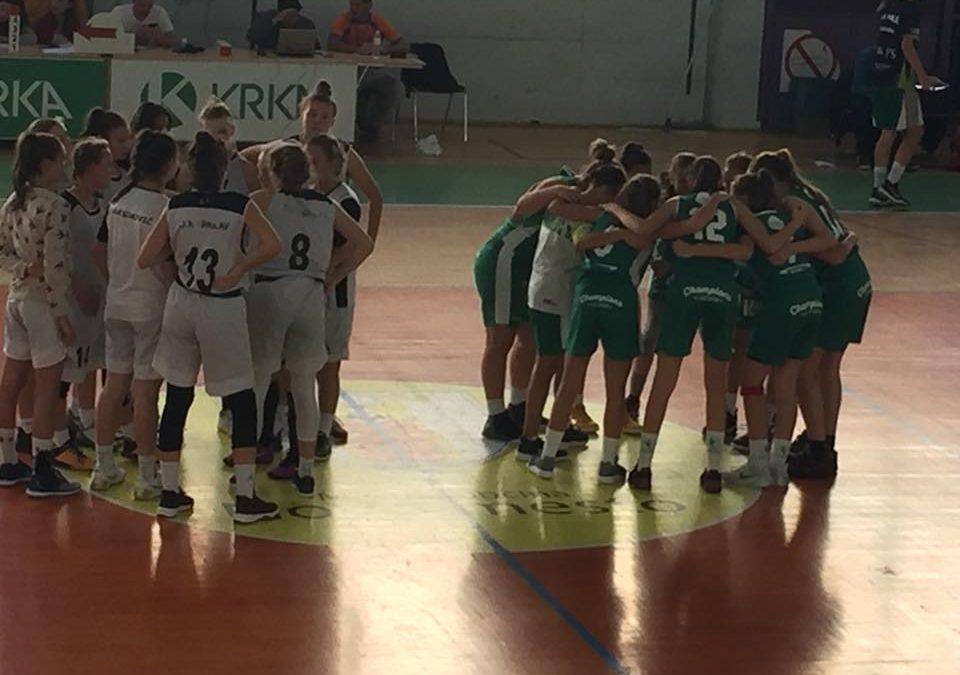 Ekipa U15 nadaljuje zmagoviti niz v ligi WABA